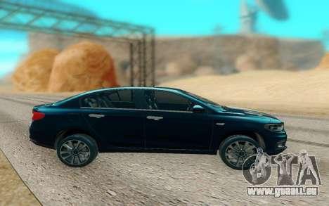 2018 Dodge Neon pour GTA San Andreas laissé vue