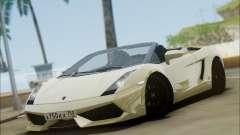 Lamborghini Gallaro 2005 Spyder pour GTA San Andreas