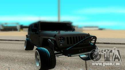 Jeep Rubicon 2012 V3 pour GTA San Andreas