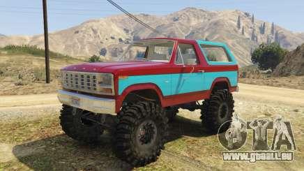 Ford Bronco MudSlinger 1980 pour GTA 5