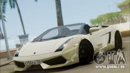 Lamborghini Gallaro 2005 Spyder für GTA San Andreas