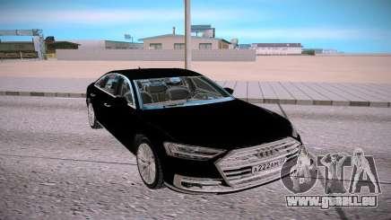 Audi A8L TFSI pour GTA San Andreas