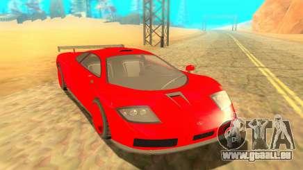 Progen GP1 LM GTR pour GTA San Andreas