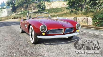 BMW 507 1959 v2.0 [replace] pour GTA 5