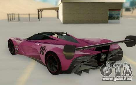 Mazda Furai Concept 08 pour GTA San Andreas