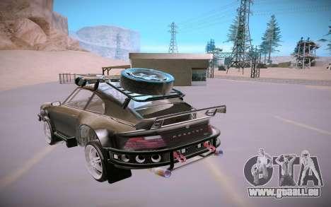 GTA V Pfister Comet Safari pour GTA San Andreas vue arrière