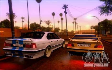 BMW M3 E36 Hamann pour GTA San Andreas vue intérieure