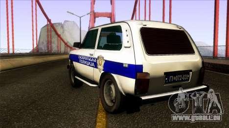 Lada Niva Serbian Traffic Police pour GTA San Andreas