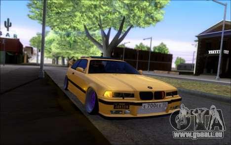 BMW M3 E36 Hamann pour GTA San Andreas vue de droite