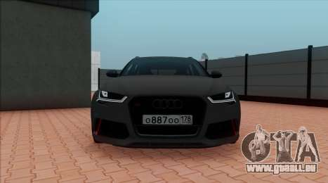 Audi RS6 Avant C7 Bulkin pour GTA San Andreas