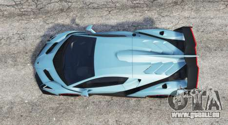 GTA 5 Lamborghini Veneno 2013 v1.1 [replace] vue arrière