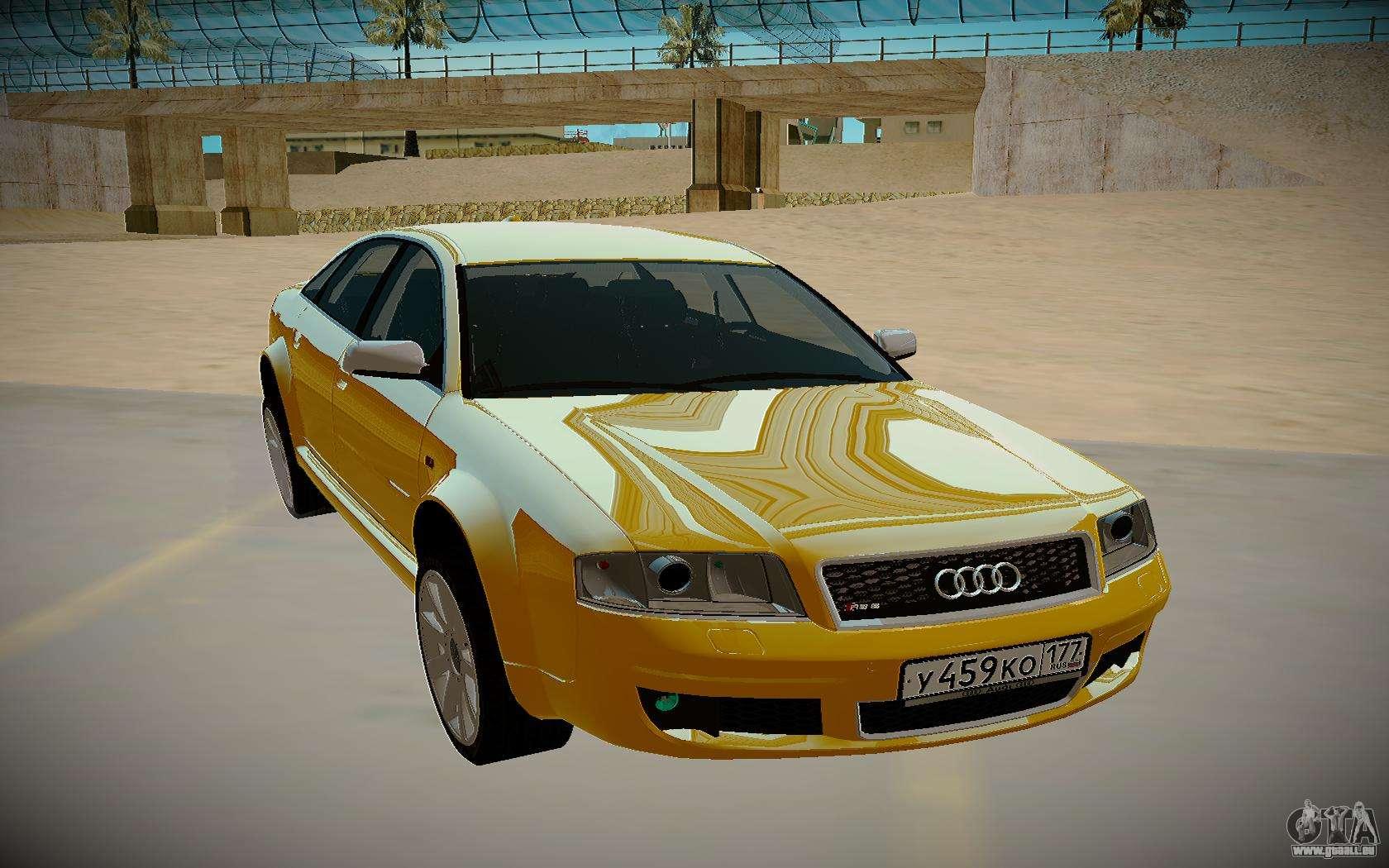 Audi RS6 C5 2002 pour GTA San Andreas