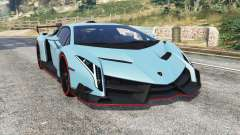 Lamborghini Veneno 2013 v1.1 [replace] pour GTA 5
