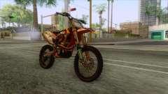 KTM 450 SF-X Redbull pour GTA San Andreas