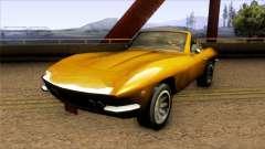 Driver PL San Marino Spyder für GTA San Andreas