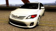 Toyota Corolla 2011 Comfort Extra pour GTA San Andreas
