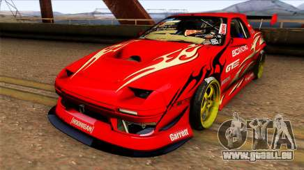 Mazda RX 7 Hoonigan für GTA San Andreas