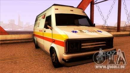 Ambulancia Rumpo Colombiana pour GTA San Andreas