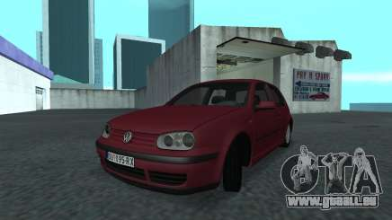 1999 Volkswagen Golf Mk4 pour GTA San Andreas