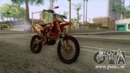 KTM 450 SF-X Redbull für GTA San Andreas