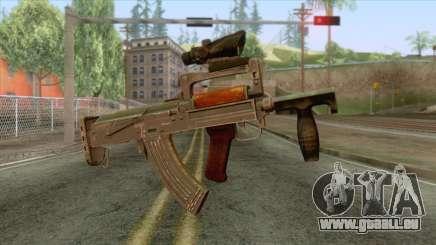 Playerunknown Battleground - OTs-14 Groza v2 für GTA San Andreas