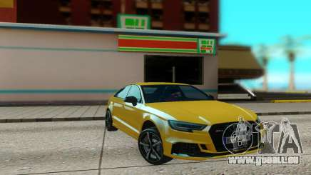 Audi RS3 Sedan 2017 für GTA San Andreas