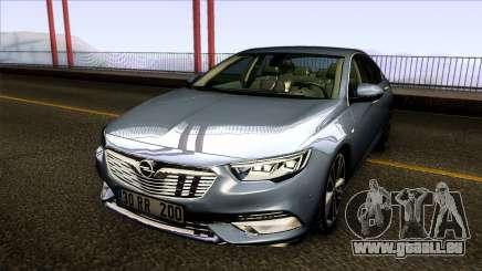 Opel Insignia 2018 pour GTA San Andreas