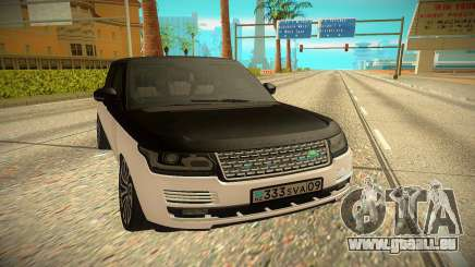 Land Rover Range Rover Autobiography 2016 für GTA San Andreas