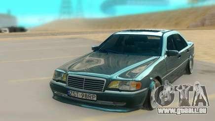 Mercedes Benz W202 Black Bandit pour GTA San Andreas