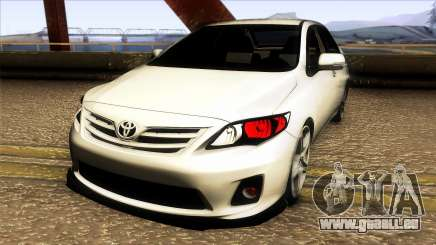 Toyota Corolla 2011 Comfort Extra pour GTA San Andreas