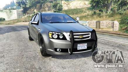 Chevrolet Caprice Unmarked Police v2.0 [replace] für GTA 5
