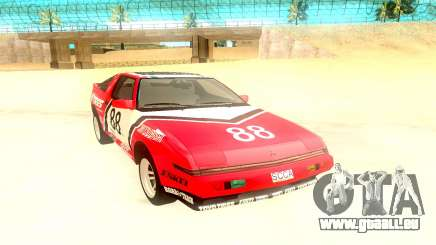 Mitsubishi Starion ESiR US-Spec 1986 pour GTA San Andreas