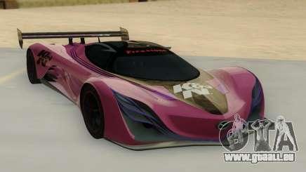 Mazda Furai Concept 08 für GTA San Andreas
