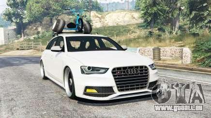 Audi RS 4 Avant (B8) 2014 v1.1 [replace] pour GTA 5