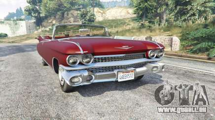 Cadillac Eldorado Biarritz 1959 v1.1 [replace] für GTA 5