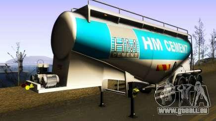 HM Cement Trailer pour GTA San Andreas