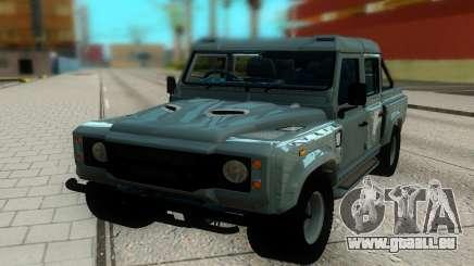 Landrover Defender 110 für GTA San Andreas