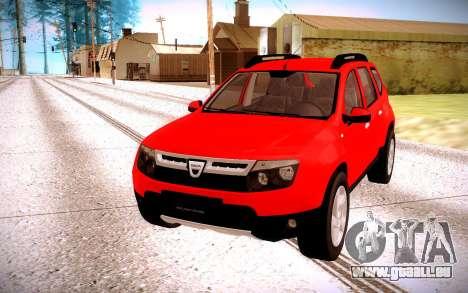 Renault Duster pour GTA San Andreas