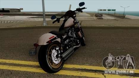 Harley-Davidson FXDLS Dyna Low Rider S 2016 für GTA San Andreas Rückansicht