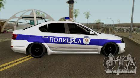 Skoda Octavia Mk3 Policija pour GTA San Andreas