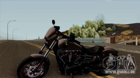 Harley-Davidson FXDLS Dyna Low Rider S 2016 für GTA San Andreas zurück linke Ansicht