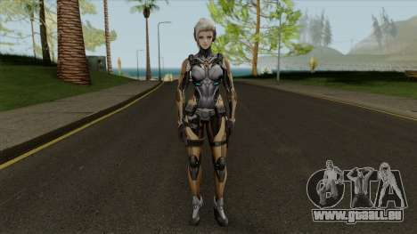 Reyko From Ghost in the Shell First Assault pour GTA San Andreas