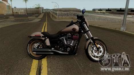 Harley-Davidson FXDLS Dyna Low Rider S 2016 für GTA San Andreas Innenansicht