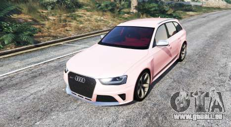 GTA 5 Audi RS 4 Avant (B8) 2013 [replace] droite vue latérale