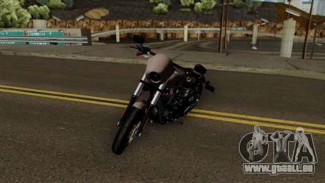 Harley-Davidson FXDLS Dyna Low Rider S 2016 für GTA San Andreas linke Ansicht