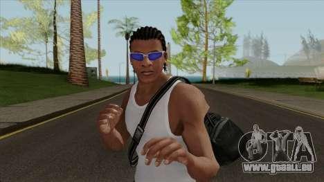 Franklin Clinton Robber Style GTA V für GTA San Andreas
