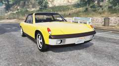 Porsche 914-6 1970 v1.1 [replace] pour GTA 5
