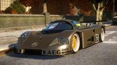 Mercedes C9 PRO le mans VIP car mod REL für GTA 4