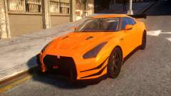 Fast And Furious Nissan GTR pour GTA 4