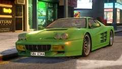 Ferrari TestaRossa 512 pour GTA 4